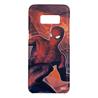 Spider-Man Mid-Air Spidey Sense Case-Mate Samsung Galaxy S8 Case