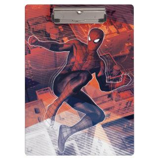 Spider-Man Mid-Air Spidey Sense Clipboard