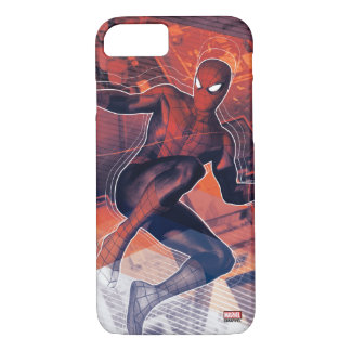 Spider-Man Mid-Air Spidey Sense iPhone 7 Case
