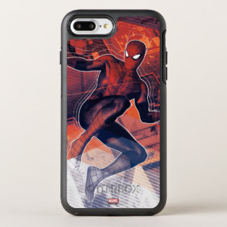 Spider-Man Mid-Air Spidey Sense OtterBox Symmetry iPhone 8 Plus/7 Plus Case