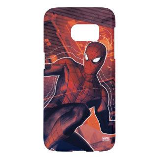 Spider-Man Mid-Air Spidey Sense Samsung Galaxy S7 Case