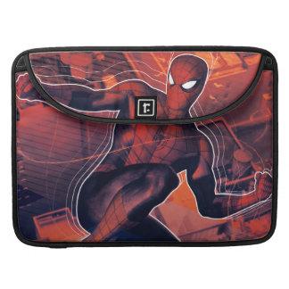 Spider-Man Mid-Air Spidey Sense Sleeve For MacBook Pro