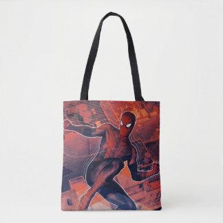 Spider-Man Mid-Air Spidey Sense Tote Bag