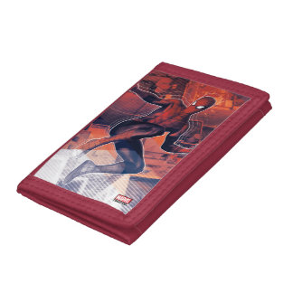 Spider-Man Mid-Air Spidey Sense Trifold Wallet