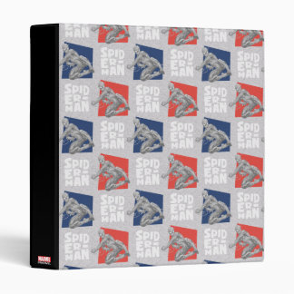 Spider-Man Name and Sketch Pattern Binder