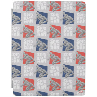 Spider-Man Name and Sketch Pattern iPad Cover
