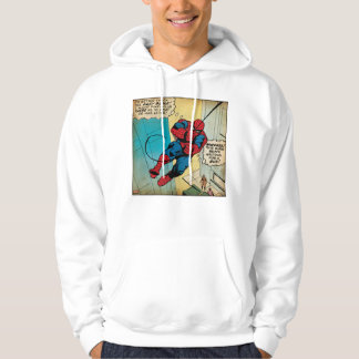 Spider-Man Off To Daily Bugle Comic Panel Hoodie