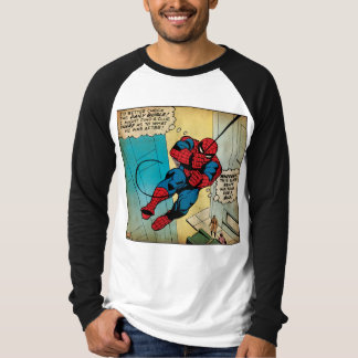 Spider-Man Off To Daily Bugle Comic Panel T-Shirt