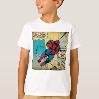 Spider-Man Off To Daily Bugle Comic Panel Tshirt
