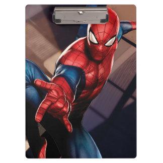 Spider-Man On Skyscraper Clipboard