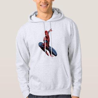 Spider-Man On Skyscraper Hoodie