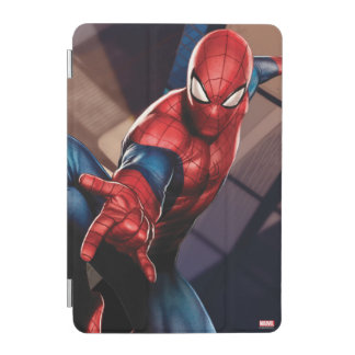 Spider-Man On Skyscraper iPad Mini Cover