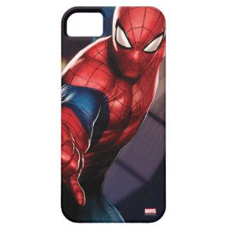 Spider-Man On Skyscraper iPhone 5 Cases