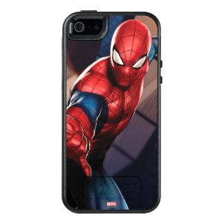 Spider-Man On Skyscraper OtterBox iPhone 5/5s/SE Case