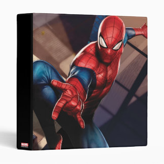 Spider-Man On Skyscraper Vinyl Binder