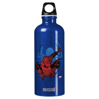 Spider-Man Paint Splatter & Logo Graphic