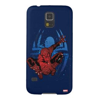 Spider-Man Paint Splatter & Logo Graphic Galaxy S5 Cases