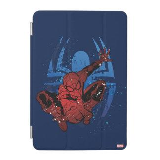 Spider-Man Paint Splatter & Logo Graphic iPad Mini Cover