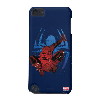 Spider-Man Paint Splatter & Logo Graphic iPod Touch (5th Generation) Covers