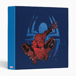 Spider-Man Paint Splatter & Logo Graphic Vinyl Binders