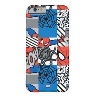 Spider-Man Pop Art Pattern Barely There iPhone 6 Case