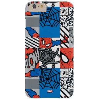 Spider-Man Pop Art Pattern Barely There iPhone 6 Plus Case