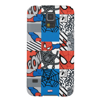 Spider-Man Pop Art Pattern Galaxy S5 Covers