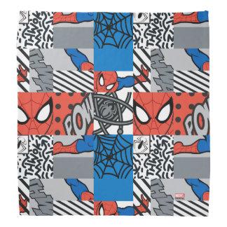 Spider-Man Pop Art Pattern Head Kerchiefs