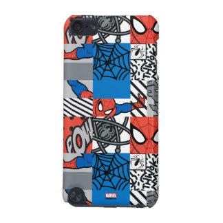 Spider-Man Pop Art Pattern iPod Touch (5th Generation) Cases