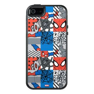 Spider-Man Pop Art Pattern OtterBox iPhone 5/5s/SE Case