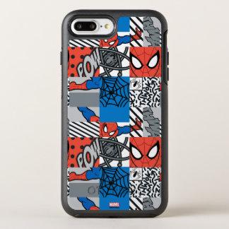 Spider-Man Pop Art Pattern OtterBox Symmetry iPhone 8 Plus/7 Plus Case