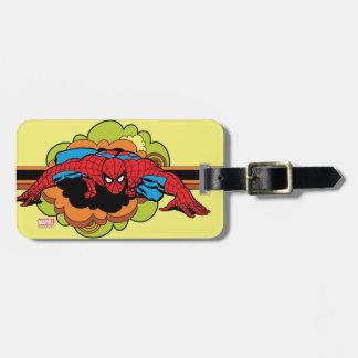 Spider-Man Retro Crawl Bag Tag