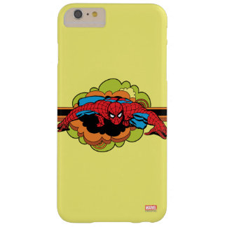 Spider-Man Retro Crawl Barely There iPhone 6 Plus Case