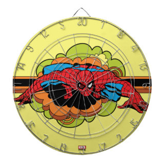 Spider-Man Retro Crawl Dartboard
