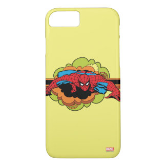 Spider-Man Retro Crawl iPhone 7 Case
