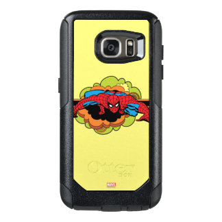 Spider-Man Retro Crawl OtterBox Samsung Galaxy S7 Case