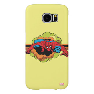 Spider-Man Retro Crawl Samsung Galaxy S6 Cases