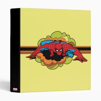 Spider-Man Retro Crawl Vinyl Binder