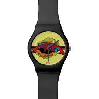 Spider-Man Retro Crawl Wrist Watch