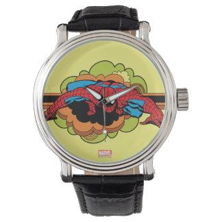 Spider-Man Retro Crawl Wristwatch
