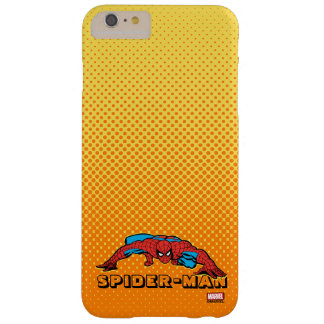 Spider-Man Retro Crouch Barely There iPhone 6 Plus Case