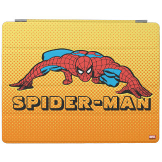 Spider-Man Retro Crouch iPad Cover