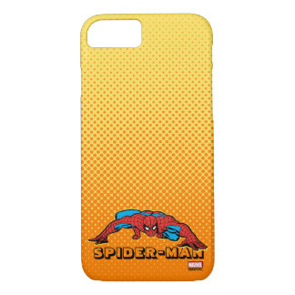 Spider-Man Retro Crouch iPhone 7 Case