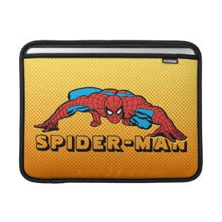 Spider-Man Retro Crouch Sleeve For MacBook Air