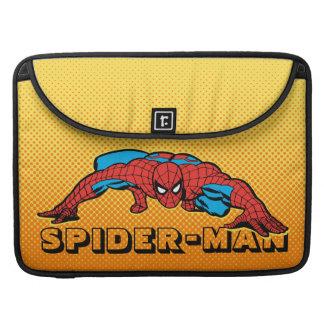 Spider-Man Retro Crouch Sleeve For MacBooks