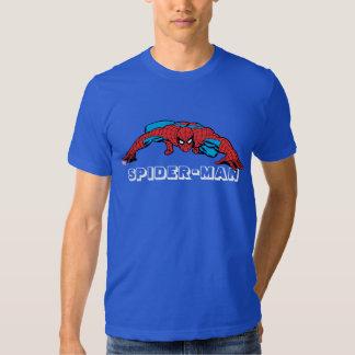 Spider-Man Retro Crouch Tee Shirts