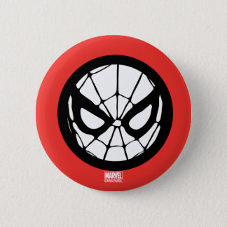 Spider-Man Retro Icon 2 Inch Round Button