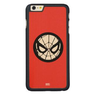 Spider-Man Retro Icon Carved Maple iPhone 6 Plus Case