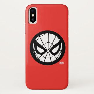 Spider-Man Retro Icon iPhone X Case