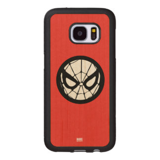 Spider-Man Retro Icon Wood Samsung Galaxy S7 Case